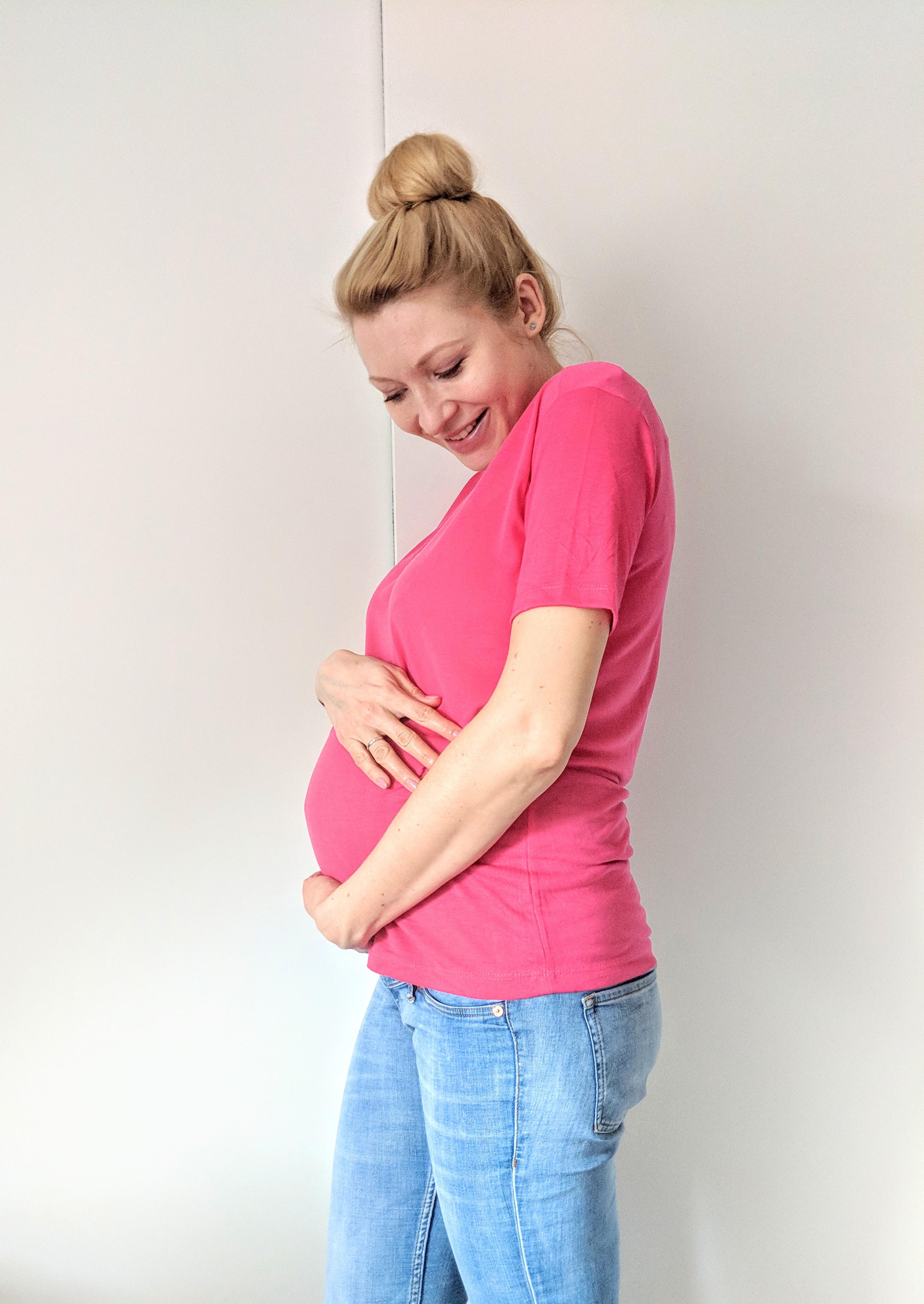 trening pod koniec ciąży